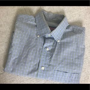 Like New Men's Plaid Vineyard Vines Murray Shirt